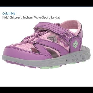 Columbia Girls Size 13 Sandals